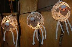 Leuchtende Schäfchen - die sind ja sooo süß...