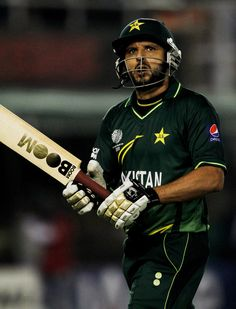 Shahid Afridi, Born Sahibzada Mohammad Shahid Khan Afridi Born On 1 March 1980 Is A Pakistani Cricketer.