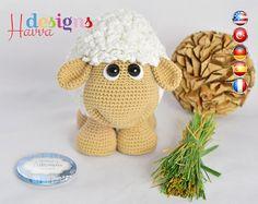 Amigurumi Patronen : Bear curtain tie back cotton yarn crochet bear amigurumi