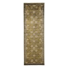 """Oushak Collection Oriental Rug, 3'2"""" x 9'9"""""""
