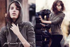fw 2012/13 designer: Kamila Gronner Photographer: Weronika Mamot Model: Magdalena Olszynka
