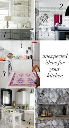 5 Easy + Unexpected Kitchen Updates http://blog.hgtv.com/design/2014/11/06/5-easy-unexpected-kitchen-updates/  Design Happens  http://idealshedplans.com/backyard-storage-sheds/