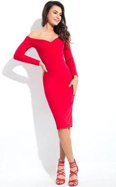 3/16/18  Brand/Designer: Rachel Allan Occasion: Christmas Evening Little Black Dress Prom Dress Dress Length: Cocktail Midi-Dress Shoulder: Long Sleeves Off-Shoulder Neckline: Sweetheart