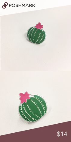 🌵Cactus Pin🌵 🌵One of a kind enamel cactus pin 🌵Super cute lapel accessory 🌵Unbranded 🌵Brand New, Never Used Urban Outfitters Other