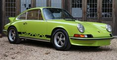 1 of 23 original Chartreuse 1973 Porsche 2.7 Carrera RS Touring