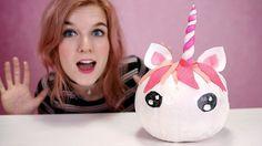 Afbeeldingsresultaat voor surprise unicorn van pompoen