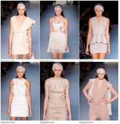 Peggy Hartanto's work at Rosemount Australian Fashion Week