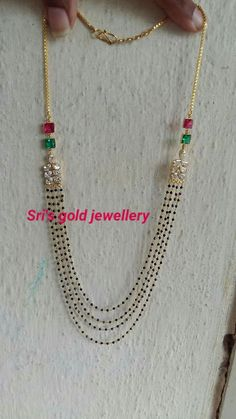 Gold Jewelry for any purpose Gold Mangalsutra Designs, Gold Earrings Designs, Gold Jewellery Design, Bead Jewellery, Beaded Jewelry, Jewelery, Gold Jewelry, Wedding Jewelry, Baby Jewelry