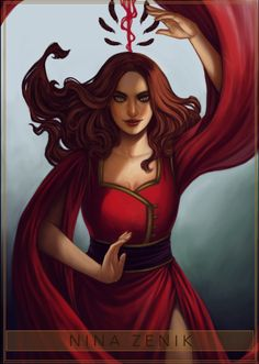 My love Nina Zenik! I honestly can't even express how much I love her, from the very first chapter she had me! Six of Crows series by Six Of Crows Characters, Book Characters, Female Characters, Disney Characters, Fictional Characters, Crooked Kingdom, The Grisha Trilogy, Crow Art, Fanart