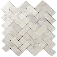 Hand Made Mini Stone Tile - Cream Herringbone Stone Mosaic Tile 1 sq. - Use for Mosaics, Showers, Flooring, Backsplashes and More! Stone Mosaic Tile, Marble Mosaic, Pebble Tiles, Rock Tile, Outdoor Kitchen Countertops, Kitchen Backsplash, Backsplash Ideas, Wall Tiles For Kitchen, Mosaic Tiles Backsplash