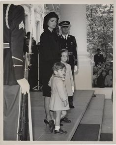 The widow was not unaware of the powerful effect she was making. Though Mrs. Kennedy was deeply distraught by the loss, she also showed a steely determination to make this the solemn outgoing show of her husband's era.