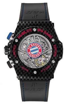 Hublot Big Bang Unico Bi-Retrograde FC Bayern Munchen 413.QX.1123.GR.BYM15, limited edition of 100 individually numbered pieces