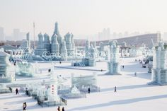 Ice city russian style