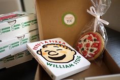Pizza Party favor...love the Pete's A Pizza Book