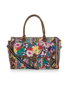 Ipanema Patchwork Weekender Bag