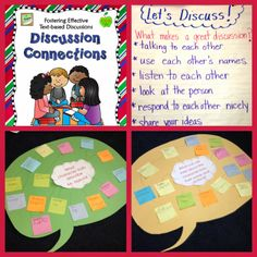 Discussion Connections during Guided Reading - Terrific review of Laura Candler's Discussion Connections: Fostering Effective Text-based Discussions. Anna shared how she used the strategy in her guided reading groups.$