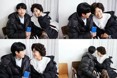 """""""The meeting of professional chemistry queen and chemistry fairy"""" CJes Ryu Joon Yeol, My Youth, Woman Crush, Kdrama, Crushes, Korean, Entertaining, Memories, In This Moment"""