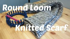 Making a Hat on a knifty knitter - knitting loom. Learn to make a knit hat using a round knitting loom. No knitting experience required. Loom Knitting Scarf, Round Loom Knitting, Loom Scarf, Knifty Knitter, Loom Knitting Projects, Lace Knitting Patterns, Loom Patterns, Scarf Patterns, Knitted Throw Patterns