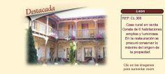 CL308 Provincia de León  Casa rural en venta http://www.lancoisdoval.es/hoteles-con-encanto-en-venta.html