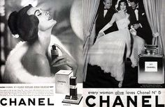 ernest beaux coco chanel vintage ads 11 People Who Inspired the Cosmetics World