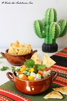 Under the Andalusian Sun food blog: #fish ceviche