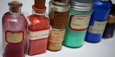 Forbes Pigment Collection, a floor-to-ceiling wall of color compiled between about 1910 and 1944 by the director of the Fogg Art Museum.
