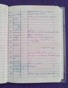 Ferramentas de organização e planeamento de uma trabalhadora-estudante