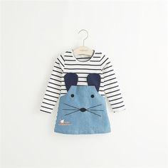 $11.76 (Buy here: https://alitems.com/g/1e8d114494ebda23ff8b16525dc3e8/?i=5&ulp=https%3A%2F%2Fwww.aliexpress.com%2Fitem%2FLittle-Girls-Casual-Dress-2015-Baby-Girls-Dress-Princess-Striped-Party-Kids-One-piece-Dresses-Costume%2F32402249046.html ) Little Girls Casual Dress 2015 Baby Girls Dress Princess Striped Party Kids One-piece Dresses Costume for just $11.76