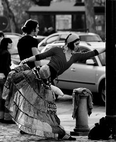 daily dance--any time, any place.