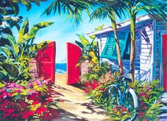 Wyland Art Galleries of Key West and Sarasota, FL- environmental art and murals, dolphin artwork
