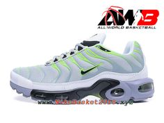 best sneakers f5268 20214 Chaussures Nike Prix Pas Cher Pour Homme Nike Air Max Plus (Nike TN) ID Gris  Vert 903827A001