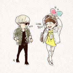 SHINee / Jonghyun & Onew
