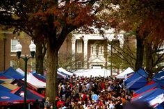 game day in The Grove