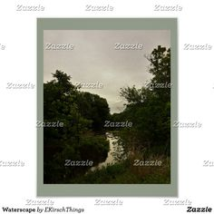 Waterscape Poster