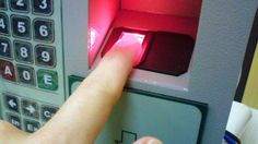 A major application of Biometrics is fingerprint recognition. Here, a digital image of your fingerprints is captured using a scanner which is then used as an authentication key instead of regular passwords. Aadhar Card, Atm Card, Accounting Education, Biometric Devices, Biometric Authentication, Fingerprint Recognition, Finger Print Scanner, Shop Around, Access Control