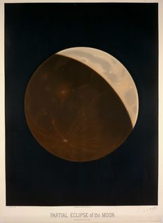 1874 partial eclipse observed and illustrated by Étienne Léopold Trouvelot Advantages Of Solar Energy, Wellcome Collection, New York Public Library, French Artists, Public Domain, Ciel, Fine Art Paper, Giclee Print, Fine Art Prints