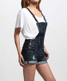 9ec12fee595 jean overall shorts for women