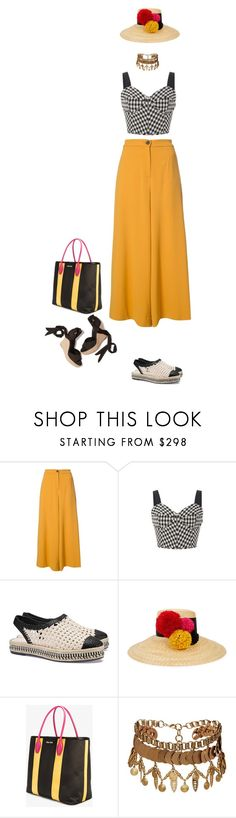 """""""Untitled #1127"""" by clothes-wise ❤ liked on Polyvore featuring Tome, Tory Burch, Eugenia Kim, Miu Miu and Elizabeth Cole"""