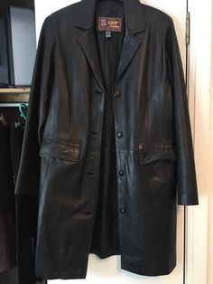 Ladies leather jacket size 48 think this is 14/16 | eBay!