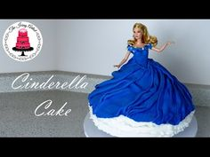 Cinderella's Twirling Dress Cake - How To With The Icing Artist - YouTube