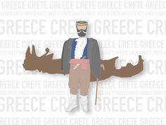 Crete Island Greece Logo