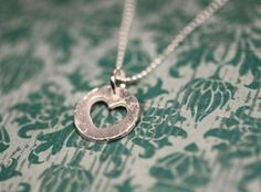 """Can I buy myself a necklace entitled """"love you with my whole heart""""? $18"""