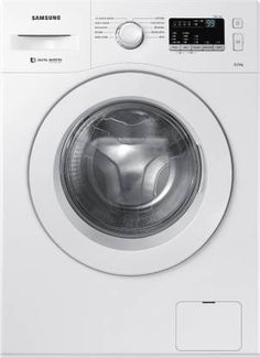 Samsung 6 kg Fully-Automatic Front Loading Washing Machine price in india White, Inbuilt Heater) - India Smart Price Washing Machine Price, Washing Machine Reviews, Samsung Washing Machine, Washing Machines, Stainless Steel Drum, Low Water Pressure, Dryer Machine, Tub Cleaner, Wash Tubs