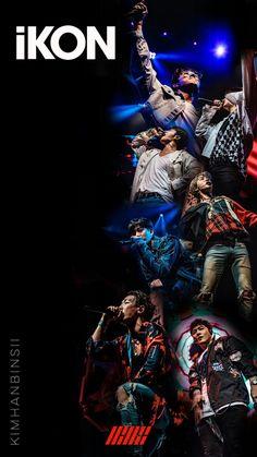 Pop Lyrics, Yg Entertaiment, Kim Jinhwan, Ikon Kpop, Ikon Wallpaper, Funny Boy, K Idols, Pop Group, Backgrounds