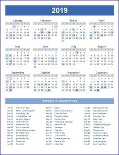printable calendar 2019 excel calendar 2019 with holidays 2018 yearly calendar 2018 holiday calendar