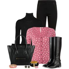 Button Cardigan, created by sherry7411 on Polyvore