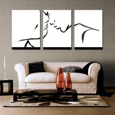 colorful abstract art - 3 piece wall decor Colorful abstract art Lovers wall art Black and white art Artwork For Living Room, Living Room Paint, Living Room Decor, Room Art, Living Rooms, Colorful Abstract Art, Abstract Wall Art, Painting Abstract, Black Abstract