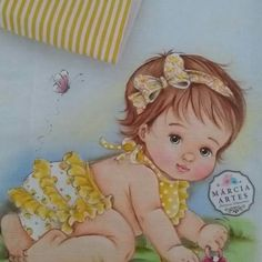 Girl Clipart, Baby Art, Fabric Painting, Little Ones, Birth, Decoupage, Clip Art, Embroidery, Dolls