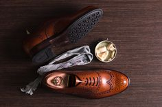 Full Brogues in Cuero https://patine.shoes