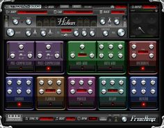 Free VST plugins - free guitar amp with effects. There's actually three different versions, all great. You don't even need a guitar if you use these with a MIDI compatible guitar simulator or sampled guitar. >> Fretted Synth Audio, freeware VST effect and instrument plug-ins at http://rekkerd.org/fretted-synth (scroll down to FreeAmp download list).